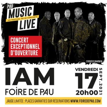 IAM en concert au Pau Music Live 2021