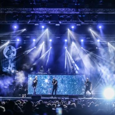 Concert du groupe de rap IAM , au parc des expos de Pau le 17 septembre 2021 Festival Pau Music Live - Foire de Pau 2021