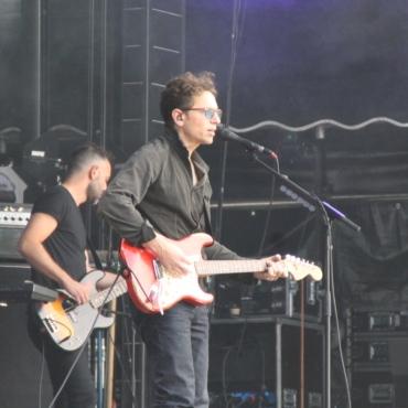 Concert de Raphaël au festival Pau Music Live 2021, en marge de la Foire de Pau. Dimanche 19 septembre 2021