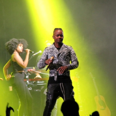 BLACK M en concert au festival Pau Music Live 1ère édition, en marge de la Foire de Pau 2021. Un festival programmé par Y A D'LA JOIE PRODUCTIONS